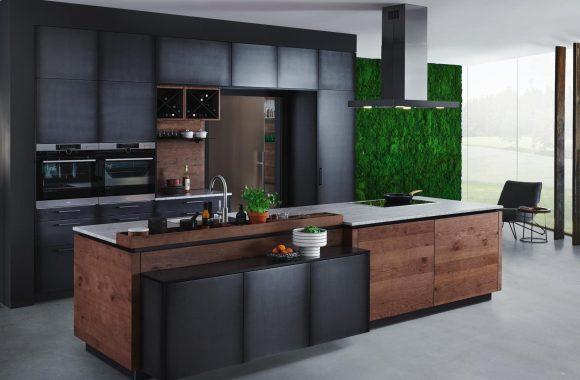 Küchentrends 2021 ewe Küche mit matten Oberflächen