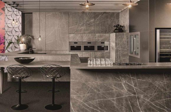 Küchentrends 2021 Graue Marmor KH Küche