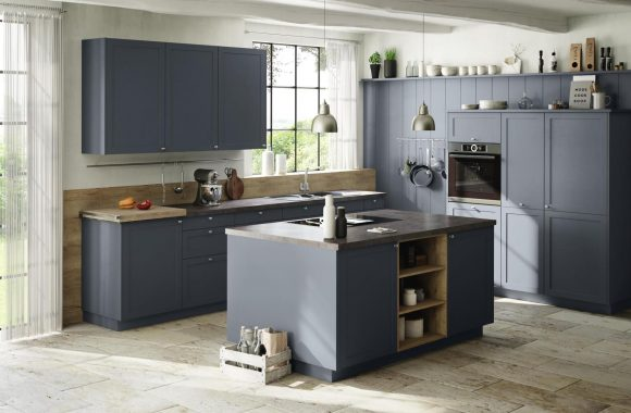 Küchentrends 2021 Graue ewe Küche im Landhausstil