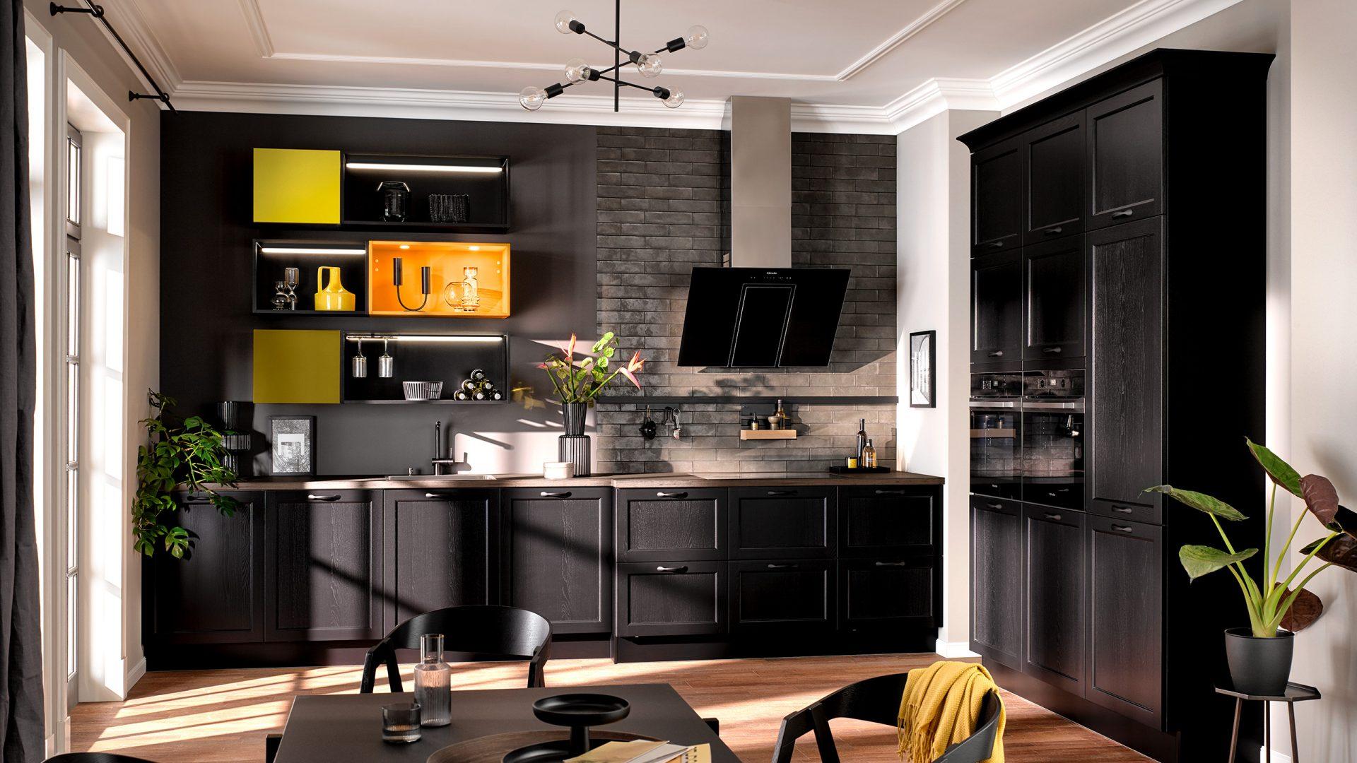 Häcker Küche im Landhausstil - Küchentrends 2021