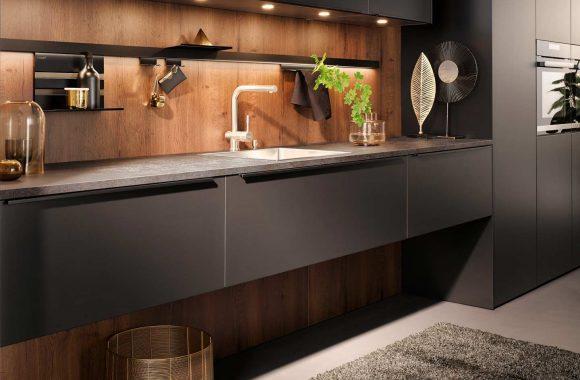 Küchentrends 2020 Häcker Mattlack im Miele Center