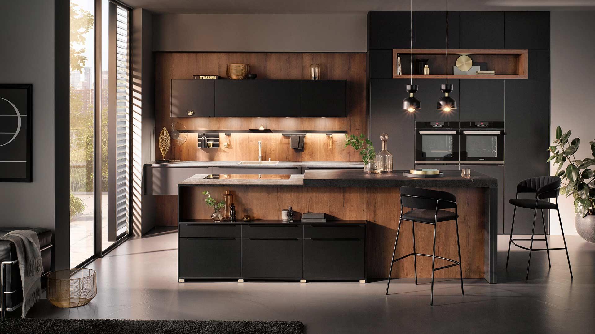 Küchentrends 2020 Häcker Mattlack im Miele Center Österreich