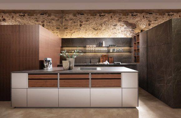 Küchentrends 2021 Keramik-Anthrazit Küche von Warendorf