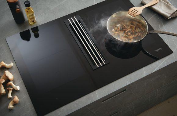 Küchentrends 2021 next125 Küche mit Miele Dunstabzug