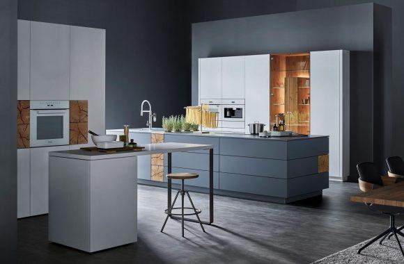 Küchentrends 2021 Warendorf End-Grain-Milieu Küche